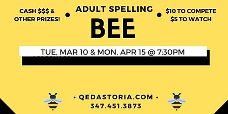 Adult Spelling Bee tickets