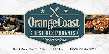Orange Coast Magazine's Best Restaurants Celebration 2020 tickets
