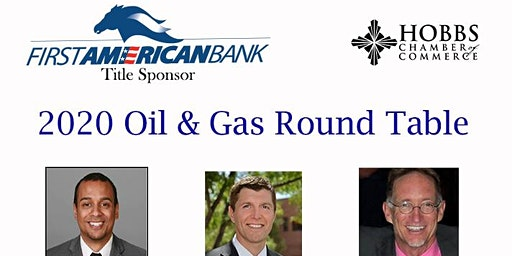 Sponsor 2020 Oil & Gas Round Table