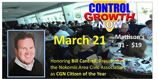 Control Growth Now Luncheon and Annual Meeting (The Public Is Welcome)