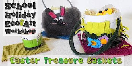 Easter Treasure Baskets : Children's Eco-Art Workshop tickets