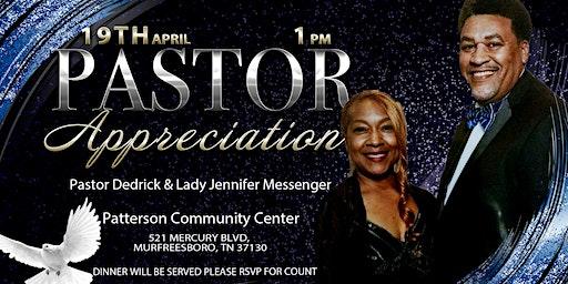 Pastor Dedrick & Jennifer Messenger Appreciation
