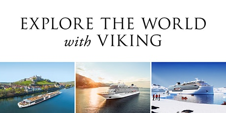 Explore the World with Viking - Information Sessions Canberra tickets
