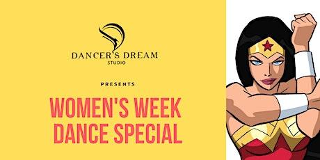 Women's Week Dance Special tickets