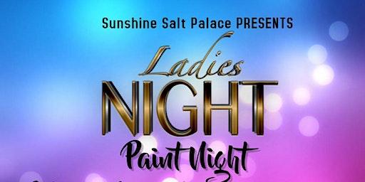 LADIES NIGHT PAINT NIGHT!