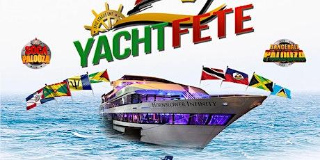 Yacht Fete Reggae Vs. Soca on The Hornblower Infinity *June 20th* tickets