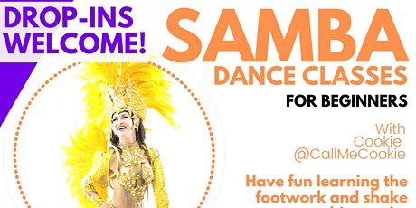 Brazilian Samba Dance Class  tickets