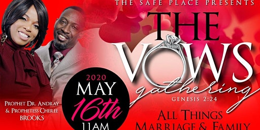 The Safe Place Presents The Vows Gathering Arkansas