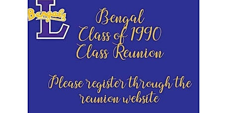 Private  - Class of 1990 Class Reunion (07-25-2020 starts at 12:00 PM) tickets