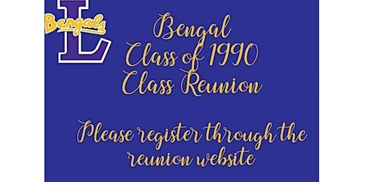 Private  - Class of 1990 Class Reunion (07-25-2020 starts at 12:00 PM)
