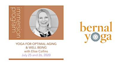 Yoga for Optimal Aging & Well Being with Elise Collins tickets
