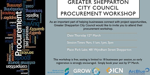 Greater Shepparton City Council Procurement Workshop