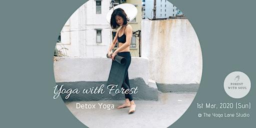 Detox Yoga with Forest @ The Yoga Lane Studio