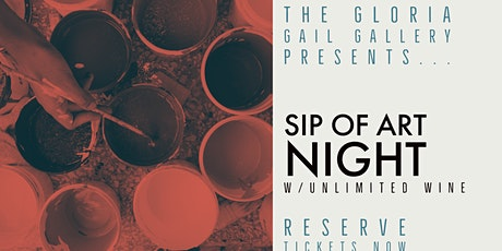 Paint 'n' Sip Unlimited Wine tickets
