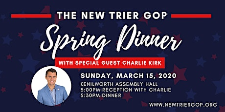 New Trier GOP Spring Dinner with Charlie Kirk tickets