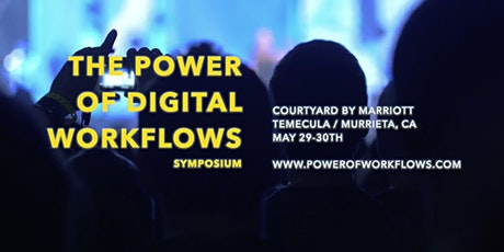 Sponsorship For The Power Of Digital Workflows Symposium tickets