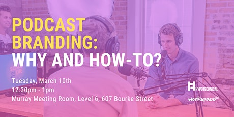 Podcast Branding: Why and How-To? tickets