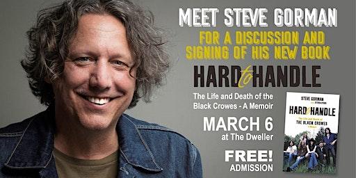 Steve Gorman Book Signing + Q&A at The Dweller