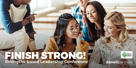 FINISH STRONG! Strengths-based Leadership Conference tickets