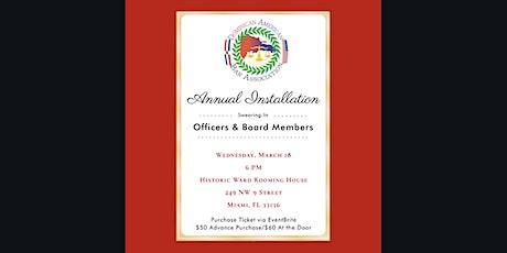 Dominican American Bar Association Installation tickets