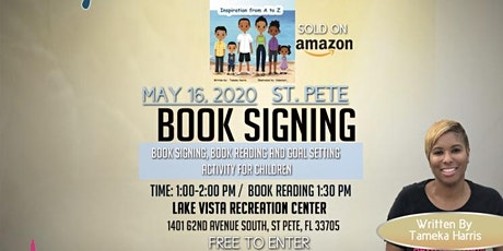 Book Signing,  Reading, and Character Goal Setting Activity for Children tickets