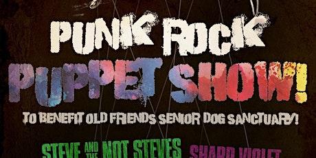 Punk Rock Puppet Show tickets