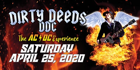 Dirty Deeds DDC - The AC/DC Experience tickets