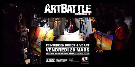 Art Battle Montréal - 20 mars, 2020 tickets