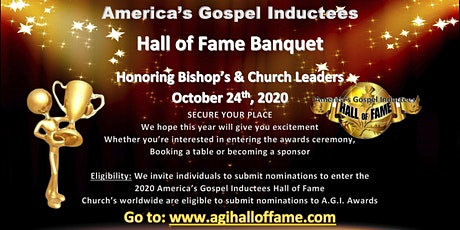 America's Gospel Inductees Hall of Fame tickets