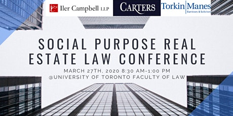 Social Purpose Real Estate Law Conference tickets