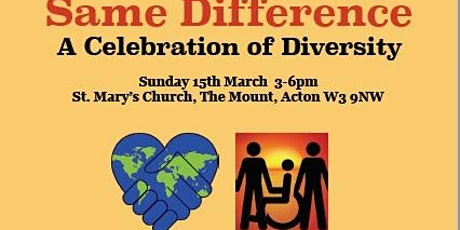 Same Difference- A Celebration of Diversity tickets