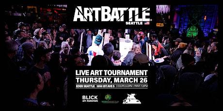 Art Battle Seattle  - March 26, 2020 tickets