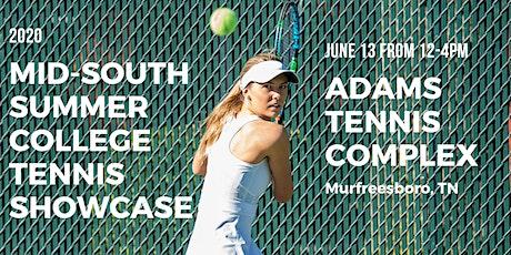 2020 Mid-South Summer College Tennis Showcase tickets