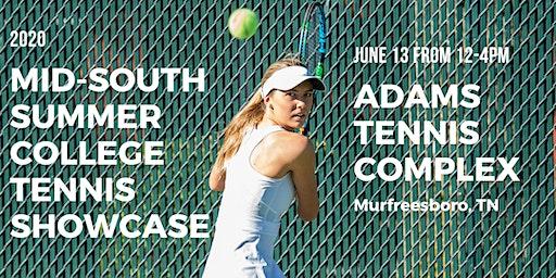 2020 Mid-South Summer College Tennis Showcase