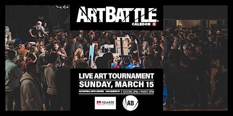 Art Battle Caledon - March 15, 2020 tickets