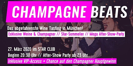Champagne Beats - Wein & Champagner Tasting + Party Tickets