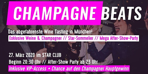 Champagne Beats - Wein & Champagner Tasting + Party