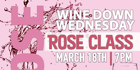 Wine Down Wednesday - Rosè Edition tickets