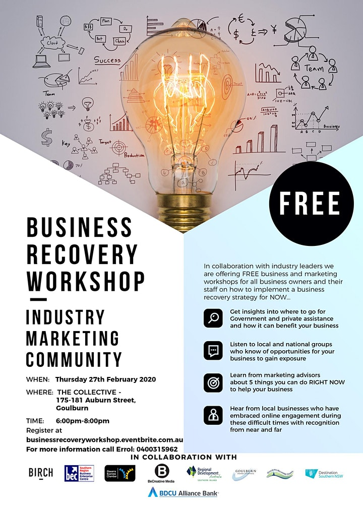 Business Recovery Workshop image