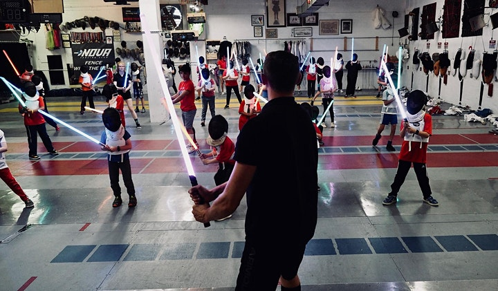 Lightsaber Fencing Class for Charity at the Nova Fencing Club image