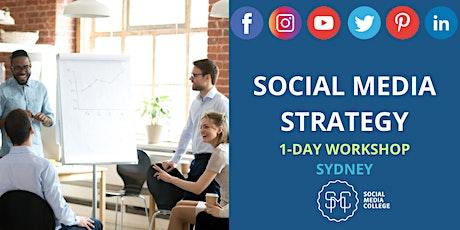 Social Media Strategy - Define | Design | Deliver - SYDNEY tickets