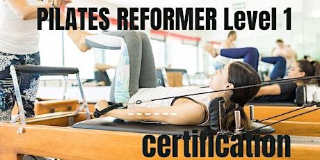 Pilates Reformer Instructor Training Certification BASICS 1 tickets