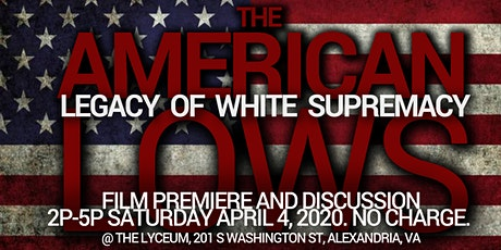 Alexandria Black History Museum presents...The American LOWS *NO CHARGE* tickets