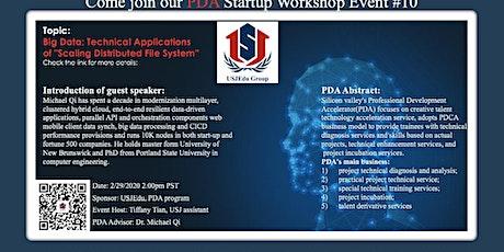 PDA Startup Workshop Event #10 tickets