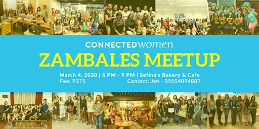 #ConnectedWomen Meetup - Zambales (PH) - March 4