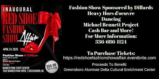 Inaugural Red Shoe Fashion Show Affair