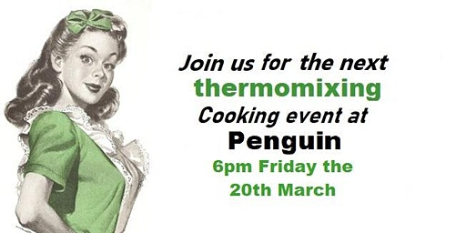 Easter inspired Thermomix cooking event.