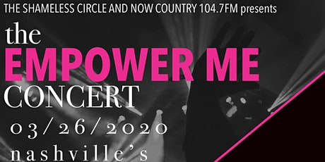 The Empower Me Concert tickets