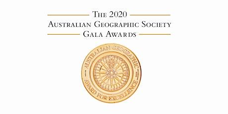 Australian Geographic Society Gala Awards 2020 tickets