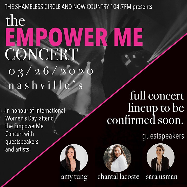 The Empower Me Concert image